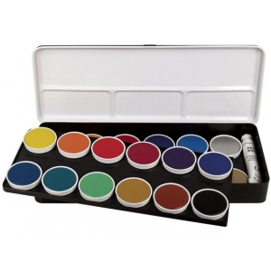 Finetec Watercolor Paint 24-Color Set; Color: Multi; Format: Pan; Type: Watercolor; (model LO24), price per set
