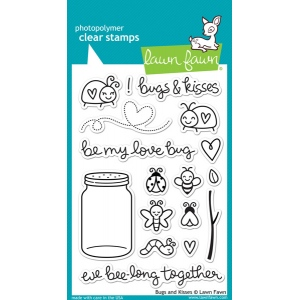 Lawn Fawn - Bugs and Kisses Stamp Set