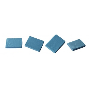 Alvin® Kneaded Erasers 18/Box; Material: Rubber; Quantity: 18-Box; Type: Manual; (model 1200AE), price per 18-Box box