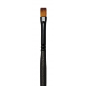 Royal & Langnickel® Majestic Taklon Acrylic and Oil Brush Bright 6: Best, Long Handle, Taklon, Bright, Acrylic, Oil, (model R4100B-6), price per each