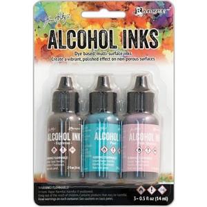 Ranger - Tim Holtz - Alcohol Ink Kit - Retro Cafe