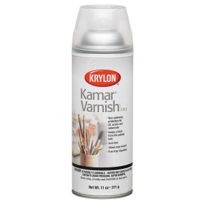 Krylon® Kamar™ Varnish Spray: Matte, Varnish & Specialty, (model K1312), price per each