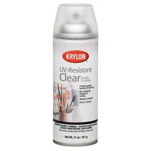 Krylon® UV-Resistant Clear Gloss Spray: Gloss, Varnish & Specialty, (model K1305), price per each