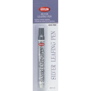 Krylon® Leafing Silver Paint Pen: Metallic, Paint, Chisel Nib, (model K9902), price per each