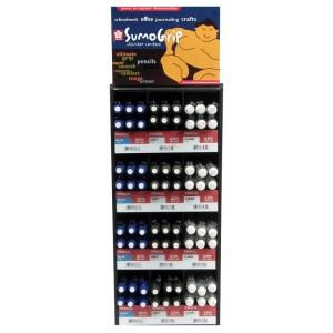 SumoGrip® Mechanical Pencil Display; Format: Pencil; Lead Color: Black/Gray, Multi; Type: Mechanical; (model S57694D), price per each