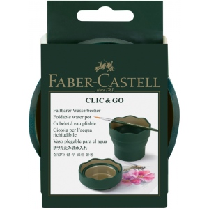 Faber-Castell® CLIC & GO Water Pot; Type: Watercup; (model FC181520), price per each