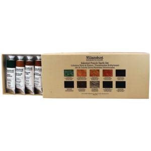 Williamsburg® French Earth Paint Set: Multi, Tube, 37 ml, Oil, (model 6008410-0), price per set