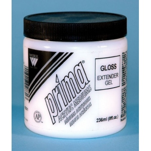 Prima Acrylic Gel Mediums - Gloss: 236ml, Jar