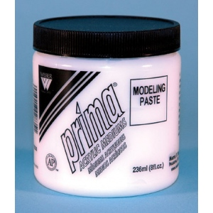 Prima Acrylic Gel Mediums - Modeling Paste: 236ml, Jar