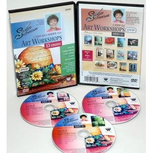 Susan Scheewe Art Workshop Series 12A: 3 DVD Set