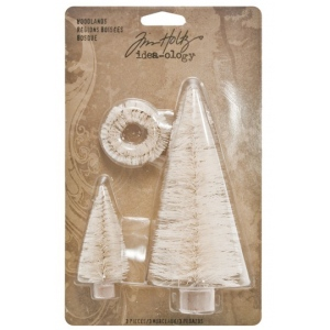 Advantus Tim Holtz Ideaology Woodlands Ornaments