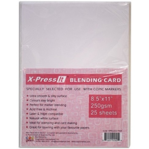 "Copic Blending Cardstock: 8.5"" x 11"", 25 Sheets"
