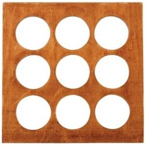 "7Gypsies Shadow Box Layer: Rounds, 8"" x 8"""