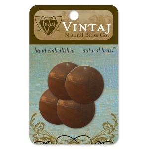 Vintaj Altered Blank Small Circle: 25mm