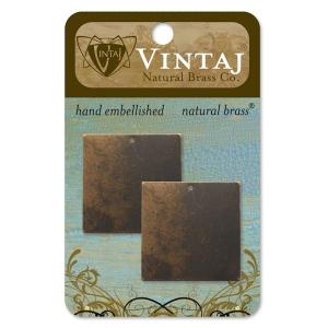 Vintaj Altered Blank Square: 29mm