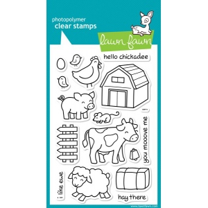 Lawn Fawn Critters on the Farm Stamp Set