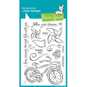 Lawn Fawn Cruising Through Life Stamp Set