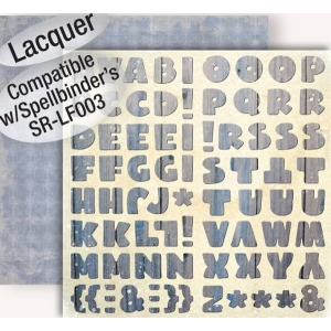 """GCD Studios Donna Salazar Botanique Paper: Botanique Alphas, 12"""" x 12"""""""
