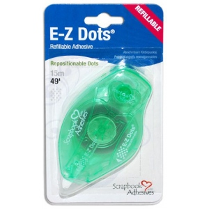 Scrapbook Adhesives by 3L EZ Dots Repositionable: Refillable