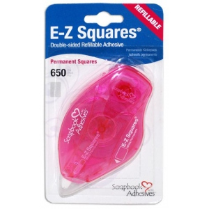 Scrapbook Adhesives by 3L EZ Squares: Refillable