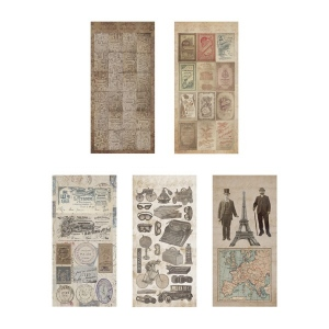 Advantus Tim Holtz Ideaology Salvage Stickers, French Industrial