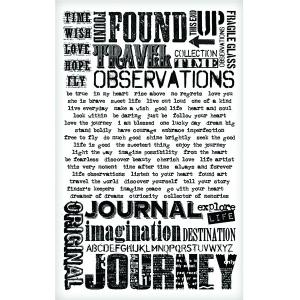 Advantus Tim Holtz Ideaology Remnant Rubs: Words