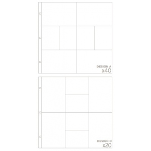 American Crafts Project Life by Becky Higgins Photo Pocket Pages: Big Variety Pack 2, Pack of 60