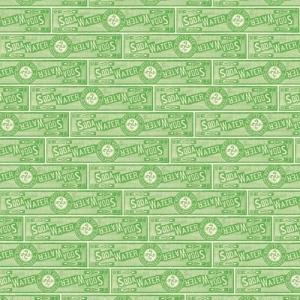 "Jenni Bowlin Studio Soda Label Paper: Green, 12"" x 12"""