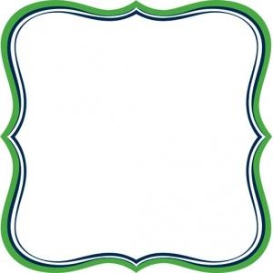 """Jenni Bowlin Studio Label Die Cut Paper: Green, 12"""" x 12"""""""