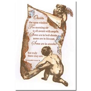 La Blanche Script Scroll