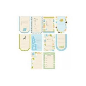 Making Memories Animal Cracker Spiral Journaling Book & Book Tags: Jack