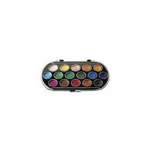 Yasutomo Pearlescent Watercolor Sets: 16 Colors