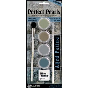 Ranger Perfect Pearls Products Aged Patina Kit