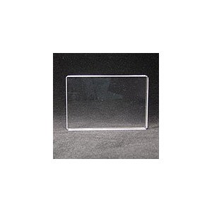 "Apple Pie Memories Acrylic Stamping Block: Plain, 4"" x 6"""
