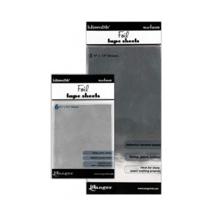 "Ranger Inkssentials Metal Foil Tape Sheets: 6"" x 12"", Pack of 3"