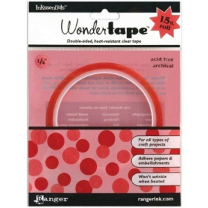 "Ranger Inkssentials Redline Tape and Sheets: 1/4"" Wonder Tape"
