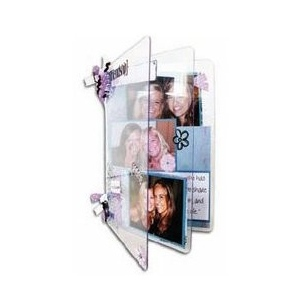 """Zutter Clear Acrylic Covers: 2 Pieces, 3"""" x 4"""""""