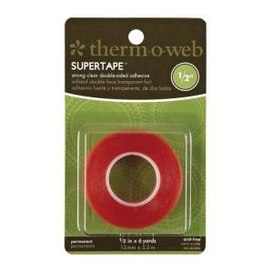 """Thermoweb Super Tape: 1/2"""" x 6 Yard Roll"""
