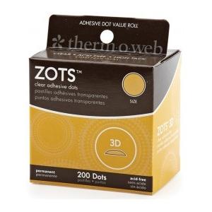 Thermoweb Zots: 3D 200 Dots