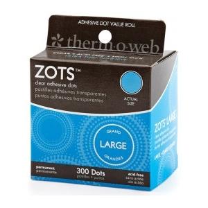 Thermoweb Zots: Large, 300 Dots