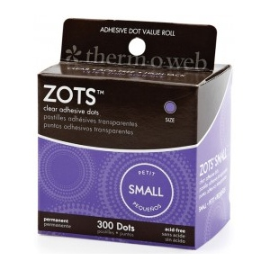 Thermoweb Zots: Small, 300 Dots