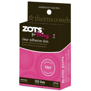 Thermoweb Zotz for Bling: Tiny Clear Adhesive Dots