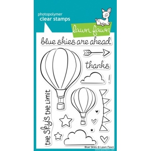 Lawn Fawn Stamp Set: Blue Skies