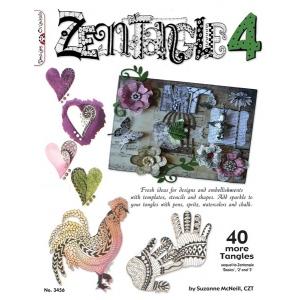 Design Originals Books: Zentangle 4