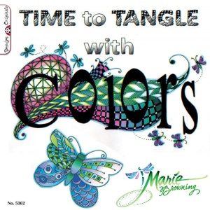 Design Originals Books: Time to Tangle with Colors