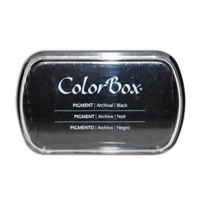 Clearsnap ColorBox Pigment Ink Full Size Pad: Black