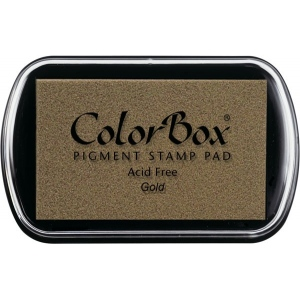 Clearsnap ColorBox Pigment Ink Full Size Pad: Metallic Gold