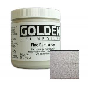 Golden Pumice Gel: Fine, 8 Ounces