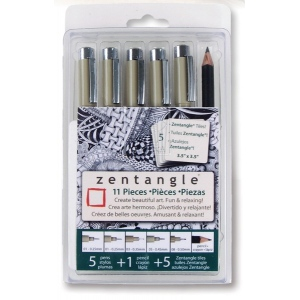 Sakura of America Zentangle: 11 Piece Set