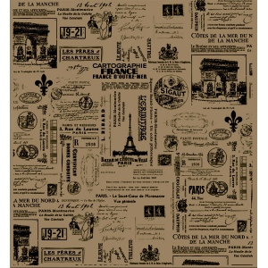 7Gypsies Collage Tissue: Paris
